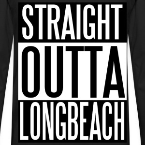Straight outta Long Beach - Men's Premium Long Sleeve T-Shirt