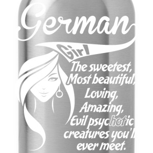 German Girl - Water Bottle