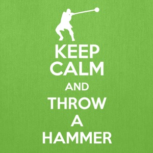 Keep Calm, and Throw a Hammer - Tote Bag