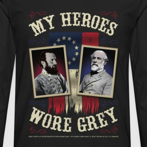 My Heroes Wore Gray Women's T-Shirts - Men's Premium Long Sleeve T-Shirt