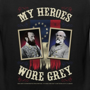 My Heroes Wore Gray T-Shirts - Men's Premium Tank
