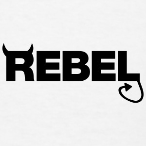 Rebel Caps - Men's T-Shirt