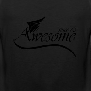 Awesome SINCE 1973 T-Shirts - Men's Premium Tank