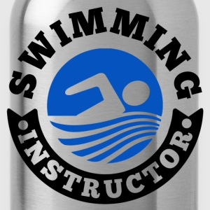 Swimming Instructor Women's T-Shirts - Water Bottle