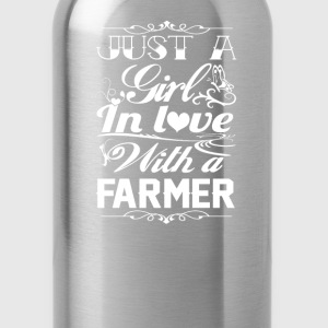 In love with a farmer - Water Bottle