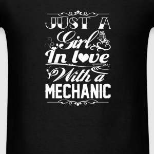 In love with a Mechanic - Men's T-Shirt