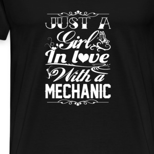In love with a Mechanic - Men's Premium T-Shirt
