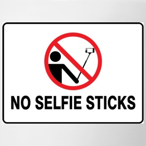 No selfie stick please - Coffee/Tea Mug