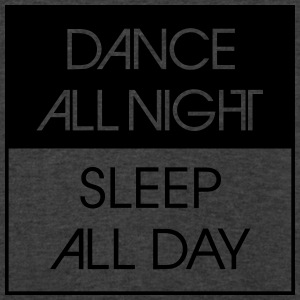 Dance All Night.. Tanks - Men's V-Neck T-Shirt by Canvas