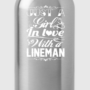 In love with a Lineman - Water Bottle