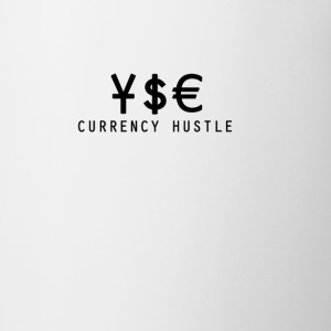 Currency Hustle white T - Coffee/Tea Mug