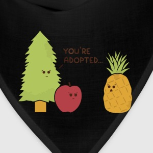 Pineapple pine apple joke t shirt - Bandana