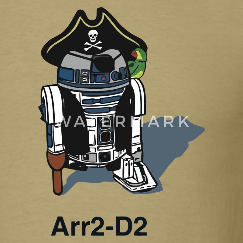 Funny Star Wars R2D2 t shirt - Men's T-Shirt