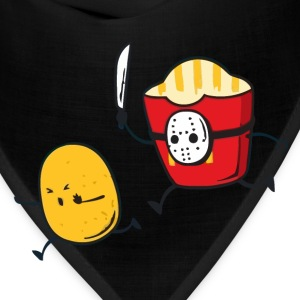 Funny fast food french fries murder t shirt - Bandana