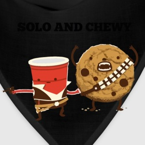 Funny Star Wars Han Solo and Chewbacca t shirt - Bandana