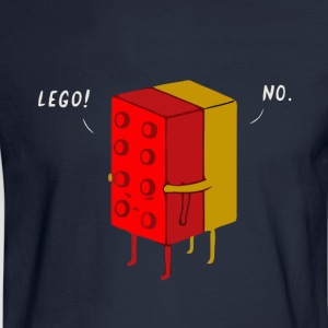 Funny lego joke t shirt - Men's Long Sleeve T-Shirt