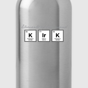 Kirk Periodic Table T-Shirts - Water Bottle