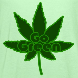 GO GREEN for marijuana 420 - Women's Flowy Tank Top by Bella