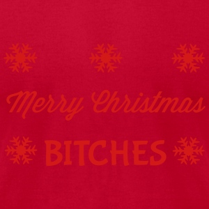 Christmas Tanks - Men's T-Shirt by American Apparel