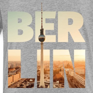 BERLIN CITY – Typo Kids' Shirts - Toddler Premium T-Shirt
