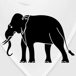 Siamese Asian Elephant Baby & Toddler Shirts - Bandana