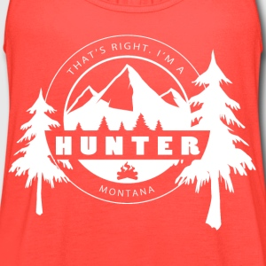 I'm a Montana Hunter - Women's Flowy Tank Top by Bella