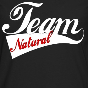 Team Natural Hoodie - Men's Premium Long Sleeve T-Shirt