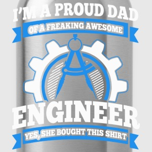 I'm Dad & engineer, Trust me, I'm an engineer - Water Bottle