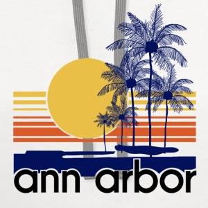 Ann Arbor.png T-Shirts - Contrast Hoodie