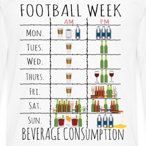 Drinking Week.png T-Shirts - Men's Premium Long Sleeve T-Shirt