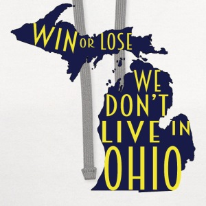 We Don't Live In Ohio T-Shirts - Contrast Hoodie