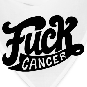 Fuck Cancer T-shirt - Bandana