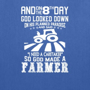 God made farmer - Tote Bag