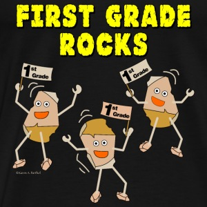 First Grade Rocks Light Tanks - Men's Premium T-Shirt