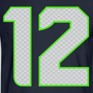 12th Man T-shirt - Men's Long Sleeve T-Shirt