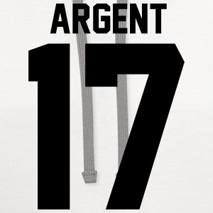 Argent 17 T-Shirts - Contrast Hoodie