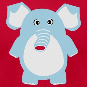 Cute Elephant Tanks - Men's T-Shirt by American Apparel