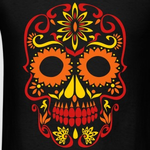 sugar skull day of the dead Baby & Toddler Shirts - Men's T-Shirt