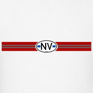 Nevada Racing Stripe - Men's T-Shirt