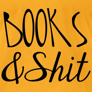 Books and Shit Tote Bag - Men's T-Shirt by American Apparel