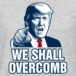 We Shall Overcomb T-Shirts - Men's Premium Long Sleeve T-Shirt