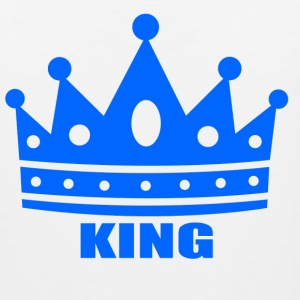 king T-Shirts - Men's Premium Tank