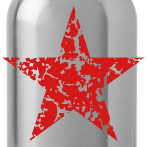 Red Star Vintage Caps - Water Bottle