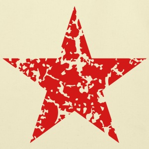 Red Star Vintage T-Shirts - Eco-Friendly Cotton Tote