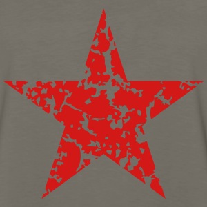 Red Star Vintage T-Shirts - Men's Premium Long Sleeve T-Shirt