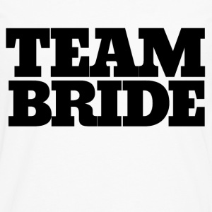 Team BRIDE bachelorette party - Men's Premium Long Sleeve T-Shirt