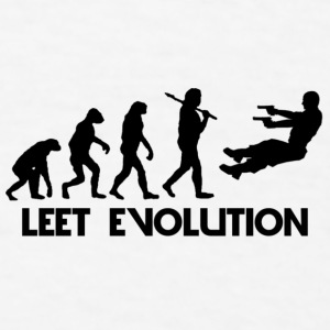 Leet Evolution Mug - Men's T-Shirt