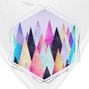 Hipster triangles (geometry) Abstract Mountains  Phone & Tablet Cases - Bandana