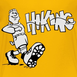 Hiking - Toddler Premium T-Shirt