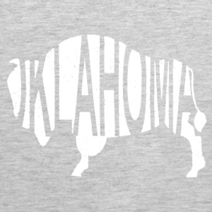 Oklahoma Bison -White Hoodies - Men's Premium Tank